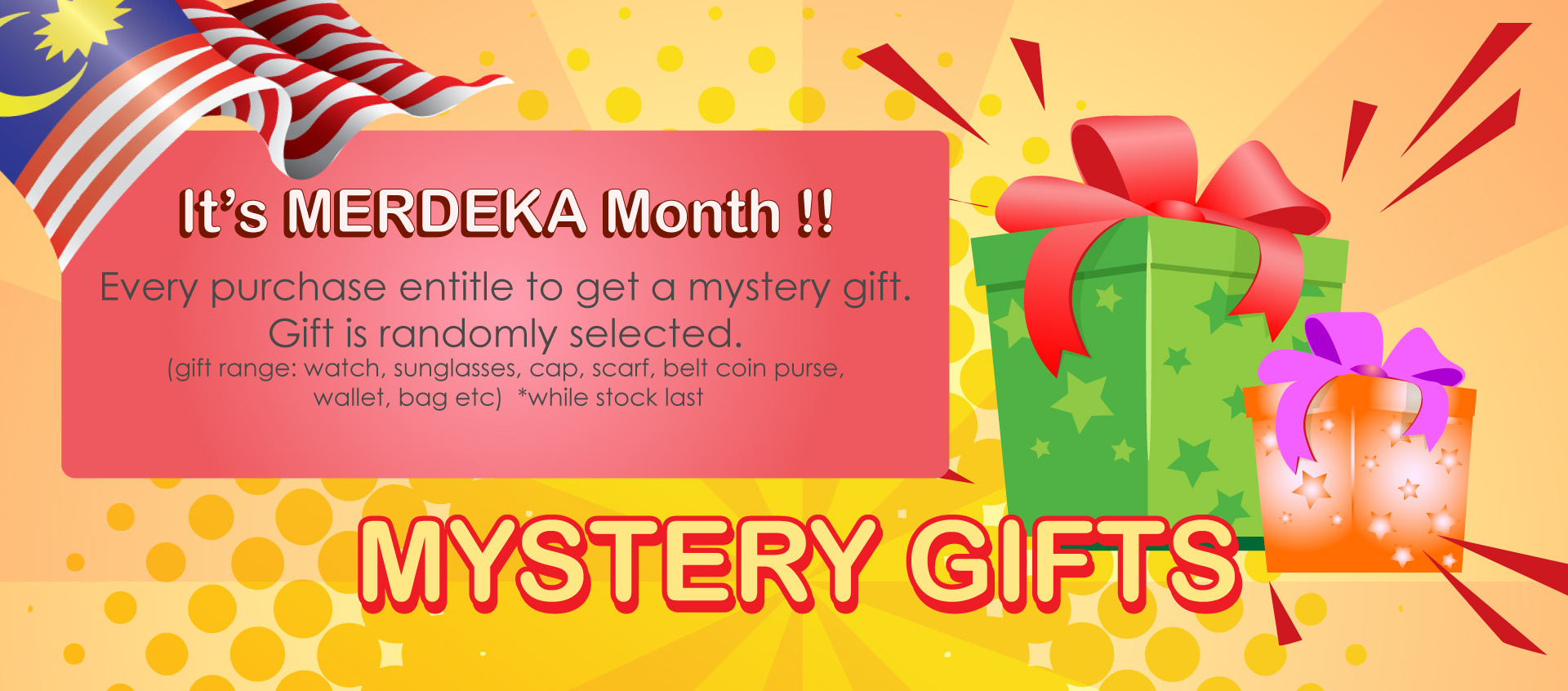 AUG mystery gifts
