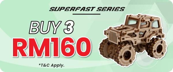 Superfast Series Promotion