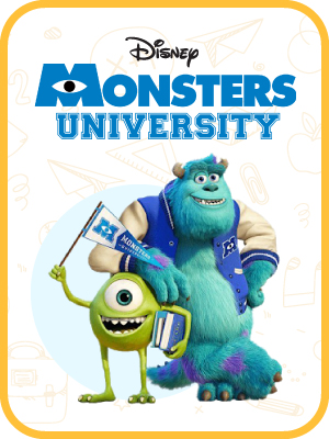 Mickey Mouse, Monsters University, Princesses, Toy Story-2