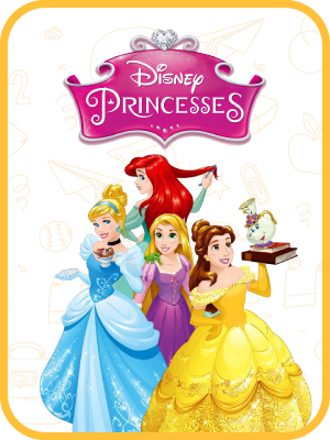 Mickey Mouse, Monsters University, Princesses, Toy Story-3