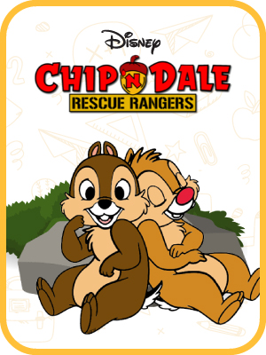 Bambi, Cars, Chip 'n' Dale, Donald Duck-3