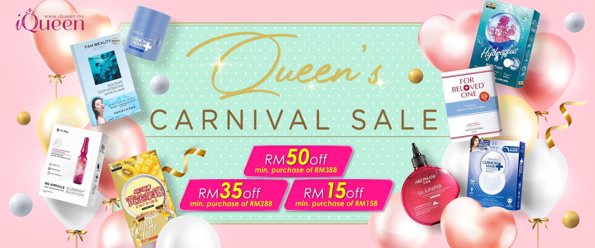 iQueen Carnival Sale Coupon