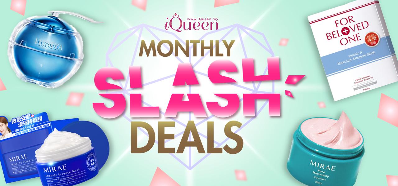 iQueen Monthly Slash Deals